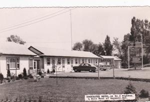 RP: NAPANEE, Ontario, Canada, 1930's; Edgewater Motel, On No.2 Highway