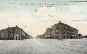 HUTCHINSON , Kansas, 1908 ; Main Street