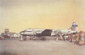 Pan American Douglas DC-4, Belgian Congo, 1946