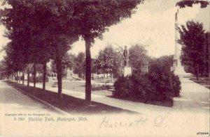 HACKLEY PARK MUSKEGON, MI 1905