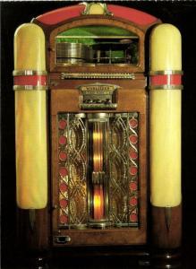 Jukebox Postcard Würlitzer 800 (1939)