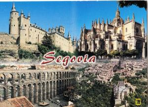 Spain, Segovia, used Postcard
