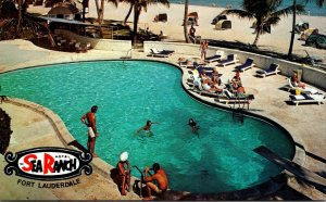 Florida Fort Lauderdale The Sea Ranch Hotel Swimming Pool