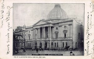Court House, Brooklyn, New York, Early Postcard, Used in 1903