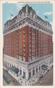 Illinois Chicago Sherman House And College Inn