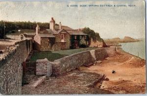 Bude: Efford Cottage & Chapel Rock, Celesque Series, Photoghrom Co. c16
