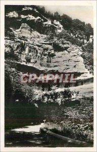 Modern Postcard Le Mas d'Azil (Ariege) Entrance of the Grotto Riviera Mas d'Azil