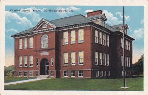Pennsylvania Northumberland Charles Steele School