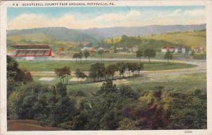 Schuylkill County Fair Grounds Pottsville Pennsylvania 1938