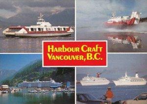Canada Vancouver Car Ferry Sea Bus Coast Guard Rescue Vessel & Cruise Ships