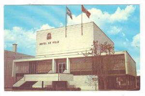 Exterior, Hotel De Ville, La Tuque, P.Q.,  Canada, PU-1989