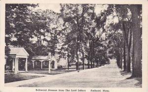 Massachusetts Anhurst The Lord Jeffery Boltwood Avenue Albertype