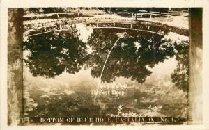 Castalia Blue Hole 1920s Lorain Ohio RPPC real photo postcard 11171