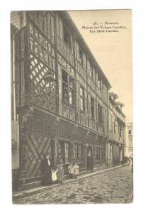 Maison De l'Eveque Cauchon, Rue Saint-Laurent, Beauvais (Oise), France, 1900-...