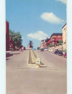 Unused Pre-1980 TOWN VIEW SCENE Sherbrooke Quebec QC p9051