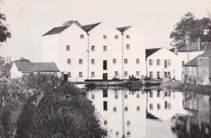 Norfolk Buxton Mill Art Centre River Postcard