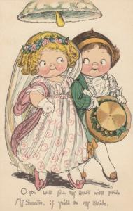 Grace DRAYTON-WIDERSEIM, 00-10s ; TUCK 243 ; Wedding Couple