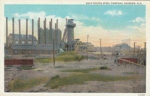 GADSDEN , Alabama , 1900-10s ; Gulf States Steel Company