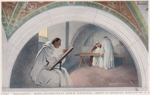 WASHINGTON D.C., 1900-10s ; Murals , Library Of Congress , 11 Postcards