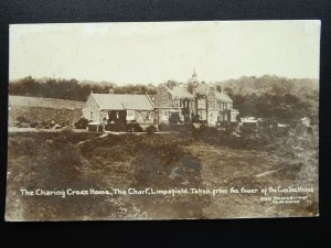 Surrey Oxted Limpsfield THE CHART The Charing Cross Home c1915 RP Postcard