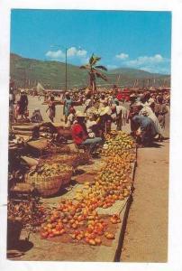 Mangoes for sale,Croix-des-Bossales market, Port-au-Prince Haiti, 40-60s