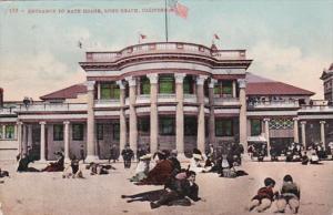 California Long Beach Entrance To Bath House 1908