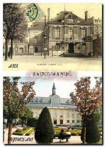 Modern Postcard St Mande The Mayor