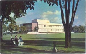 Crosby Library in Center Of Gonzaga University Campus, Spokane Washington, WA