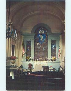 Unused Pre-1980 CHRIST CHURCH SCENE Philadelphia Pennsylvania PA p4105