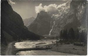 Switzerland Kandersteg gasterntal 01.23
