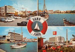 Portugal Faro, Boats Bateaux Plage Cars Voitures