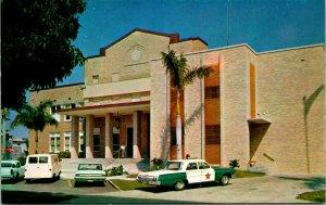 Vtg Postale 1960s Punta Gorda ,Fl Floride - Charlotte Comté Escarpin Maison -