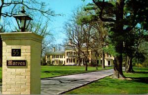 New Jersey Princeton The Morven House
