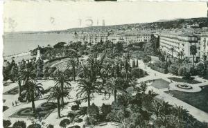 Nice, Le Theatre de Verdure, Les Jardins Albert 1er Postcard