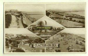tp2734 - Multiviews of Clacton-on-Sea , Essex - postcard