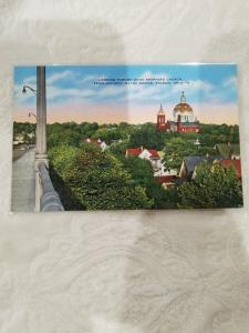 Antique/Vintage Postcard, Good Shepherd Church From Anthony Wayne Bridge