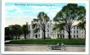 Florence, Alabama Postcard Main Buildings, State NORMAL SCHOOL College c1930s