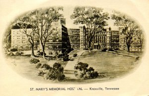 TN - Knoxville. St Mary's Memorial Hospital