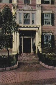 Massachustetts Salem A Chestnut Street Doorway