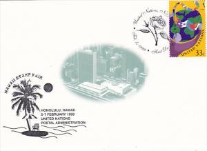 Hawaii Stamp Fair 1999 United Nations Postal Administration