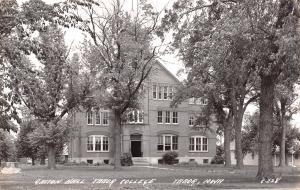 Tabor Iowa~Gaston Hall at Tabor Christian College~Closed 1927~1930s RPPC