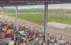 Maryland Hagerstown Dining Deck Club House Hagerstown Race Track