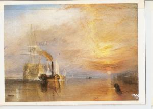 Postal 045745 : The Fighting Temeraire. The National Gallery