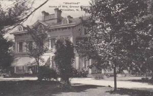 New Jersey Princeton Westland Home Of Mrs Grover Cleveland Albertype