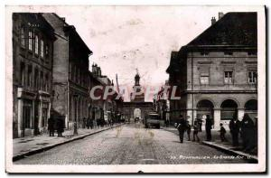 Modern Postcard Pontarlier Grande Rue