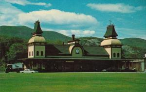 North Conway Railroad Station White Mountains New Hampshire