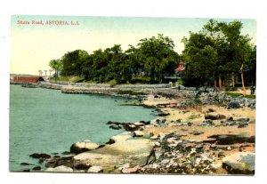 NY - Long Island, Astoria. Shore Road Scene