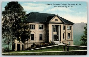 Bethany-Wellsburg WV~Bethany College~Men @ Carnegie Library (Cramblet Hall)~1935
