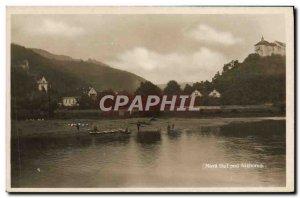 Postcard Old Nova Huf Pod Nizborem