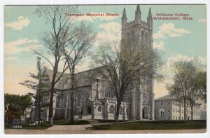 Williamstown, Mass, Thompson Memorial Chapel, Williams College